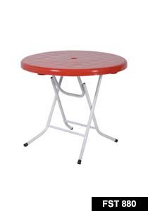 Felton Round Plastic Table